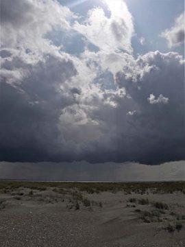 Woeste wolken boven de Balg Foto KD